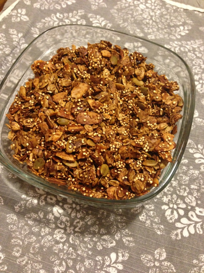 low-sugar granola recipe