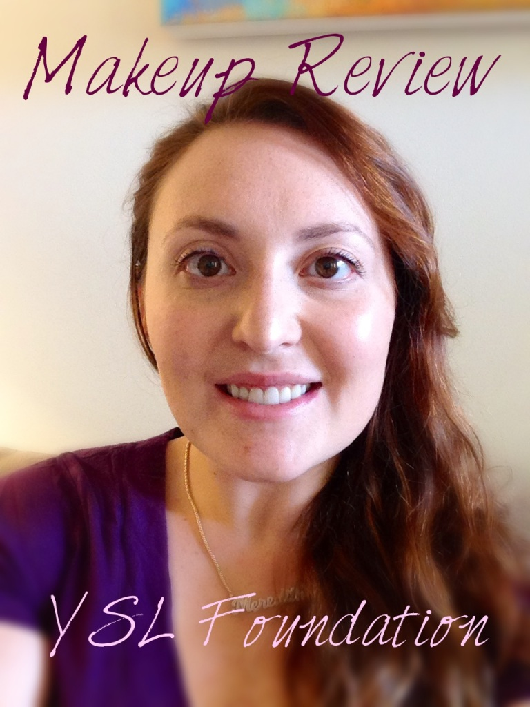 Makeup Review: YSL Foundation